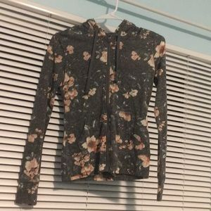 A new floral Aeropostale hoodie great for layering